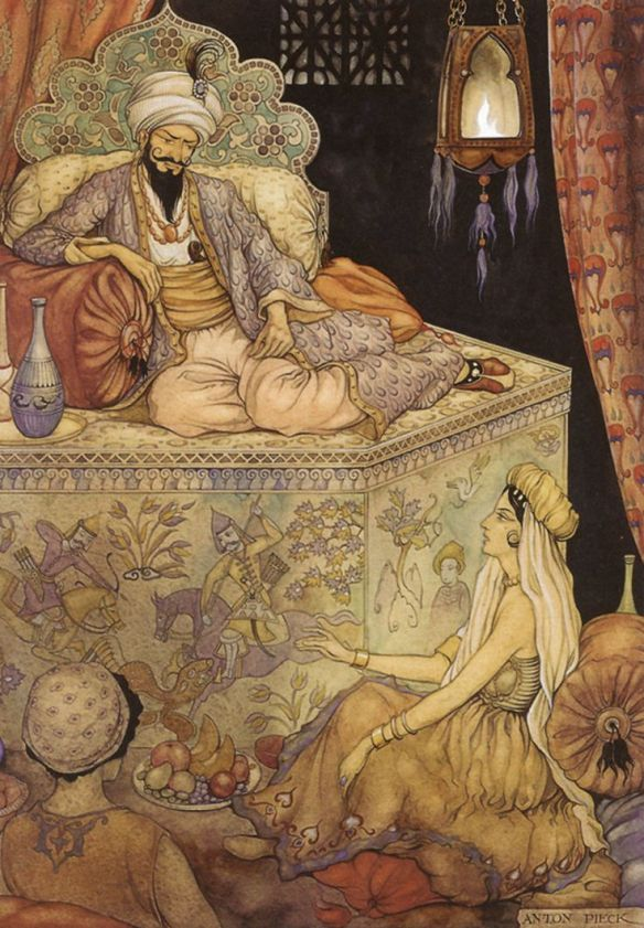 King Shahryar and Scheherazade